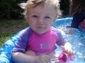 Emily first swim of 2013